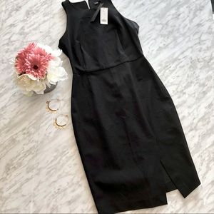 NWT Banana Republic LBD With Side Slit Size 6